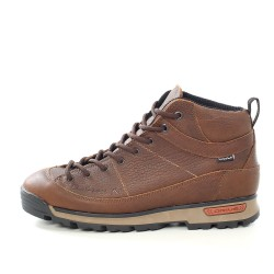 Водоустойчиви мъжки кецове от естествена кожа МН NAPOLI 420201 кафяв | Мъжки ежедневни обувки | MES.BG