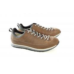 Водоустойчиви мъжки обувки от естествена кожа МН TORINO 419801 св.кафяв | Мъжки ежедневни обувки | MES.BG
