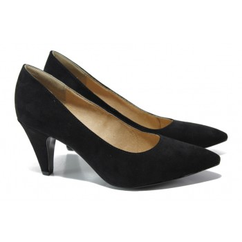 f0c483edb65 Дамски велурени обувки с
