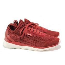 Мъжки летни маратонки S.Oliver 5-13642-22 червен | Мъжки немски обувки | MES.BG