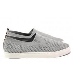 Летни спортни обувки S.Oliver 5-14601-22 сив | Мъжки немски обувки | MES.BG