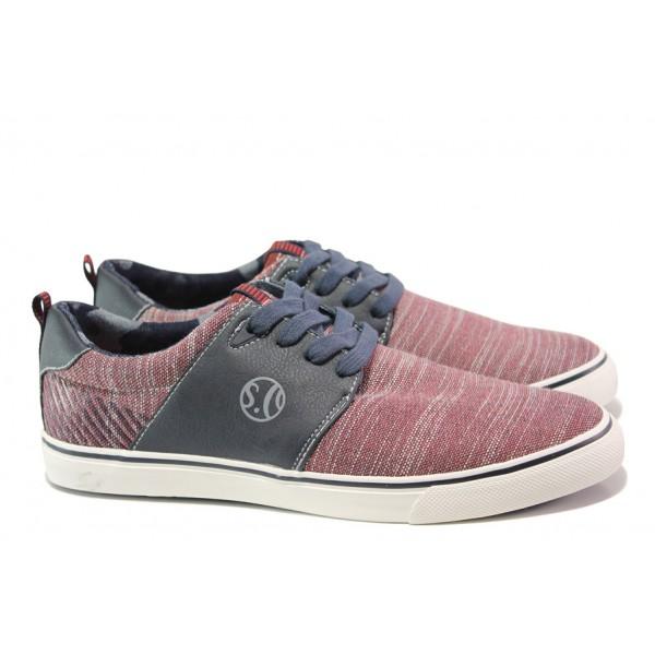 Мъжки летни спортни обувки S.Oliver 5-13629-22 червен | Мъжки немски обувки | MES.BG
