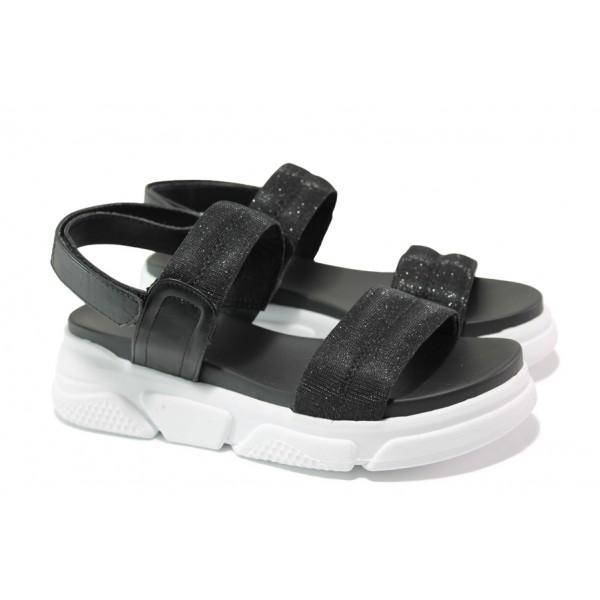 Анатомични дамски сандали S.Oliver 5-28202-22 черен | Немски чехли и сандали | MES.BG