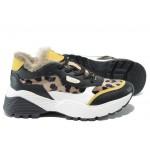Модерни дамски маратонки S.Oliver 5-23628-33 черен | Немски спортни обувки | MES.BG