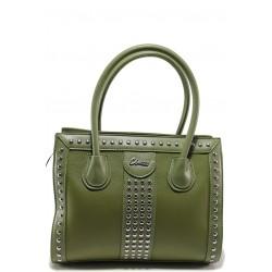 Стилна дамска чанта ФР 61312 зелен | Дамска чанта | MES.BG