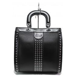 Стилна дамска чанта ФР 61311 черен | Дамска чанта | MES.BG