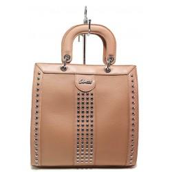 Стилна дамска чанта ФР 61311 розов | Дамска чанта | MES.BG