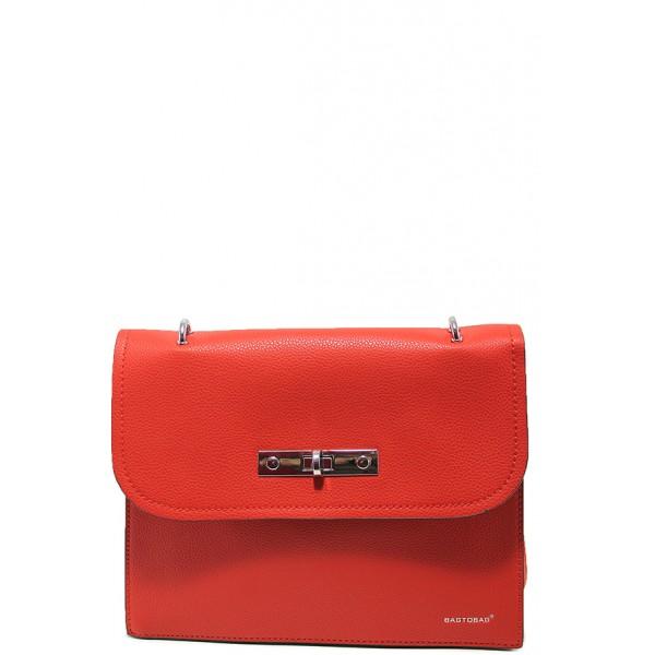 Елегантна дамска чанта ФР 1071 червен | Дамска чанта | MES.BG