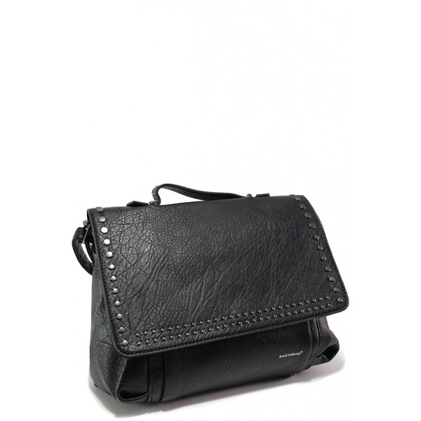 Модерна дамска чанта ФР 1946 черен | Дамска чанта | MES.BG