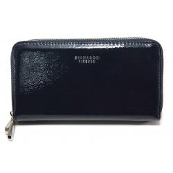 Дамско лачено портмоне ФР 1595-2 син | Дамско портмоне | MES.BG