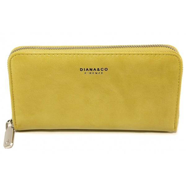 Дамско кожено портмоне ФР 1891-2 жълт | Дамско портмоне | MES.BG