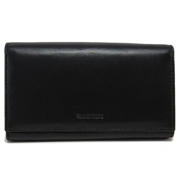 Дамско портмоне от естествена кожа ФР 306-155 черен | Дамско портмоне | MES.BG