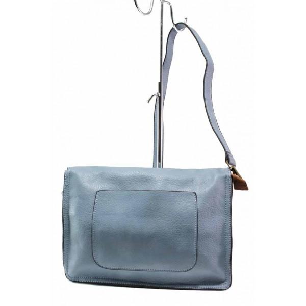 Дамска спортна чанта през рамо ФР 283 син   Дамска чанта   MES.BG