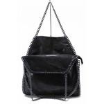 Ефектна дамска ежедневна чанта ФР 2550 черен   Дамска чанта   MES.BG