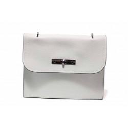 Модерна дамска чанта през рамо ФР 1071 бял | Дамска чанта | MES.BG
