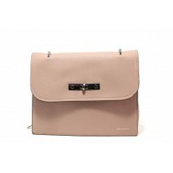 Модерна дамска чанта през рамо ФР 1071 розов | Дамска чанта | MES.BG