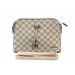 Ефектна дамска чанта през рамо ФР 6481 бежов | Дамска чанта | MES.BG