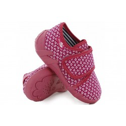 Анатомични детски пантофи, олекотени, текстилни, гъвкаво ходило / МА 13-110-01 розов-котви 20/25 / MES.BG