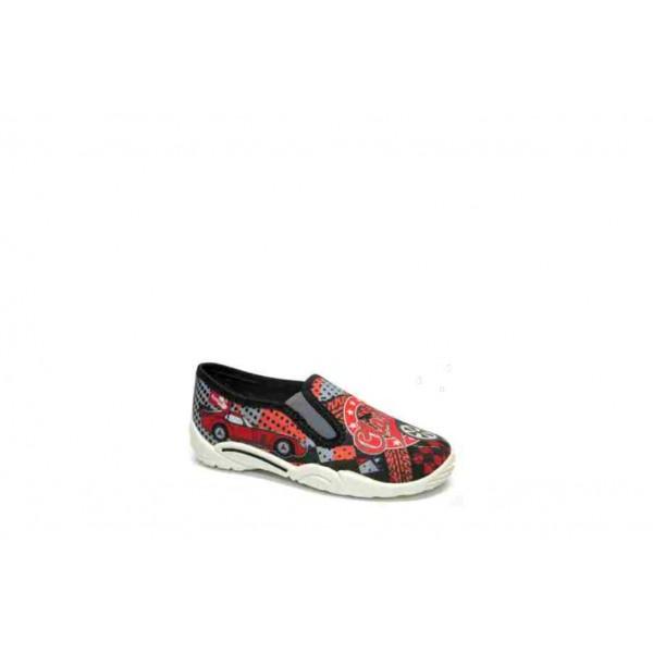 Анатомични детски обувки, леки, дишащи, текстил / МА 23-372-03 червен класик 26/32 / MES.BG