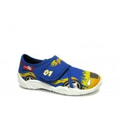 Анатомични дишащи обувки, детски, олекотени, текстил / МА 23-373-51 син speed 26/32 / MES.BG