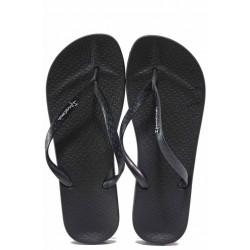 Бразилски анатомични чехли, еластично ходило от висококачествен PVC материал / Ipanema 82591 черен / MES.BG
