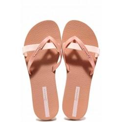 Дамски бразилски чехли между пръстите, анатомични, еластично ходило / Ipanema 81805 розов / MES.BG