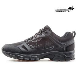 Водоустойчиви мъжки маратонки, допълнително подсилени при пръстите / Bull 82019 черен-сив / MES.BG