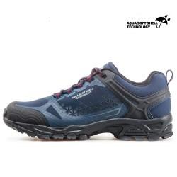 Водоустойчиви мъжки маратонки, допълнително подсилени при пръстите / Bull 82019 син-червен / MES.BG