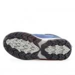 Топли детски апрески с удобни велкро лепенки / Bull 82070 син-циклама / MES.BG
