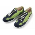 Дамски маратонки, български, естествен велур, спортни, гъвкаво ходило / МН Claudia зелен / MES.BG