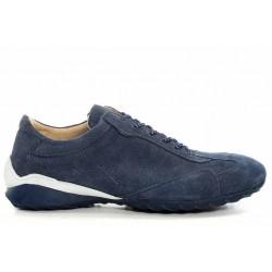 Спортни дамски обувки, маратонки, български, естествен велур, гъвкави / МН Monaco син / MES.BG