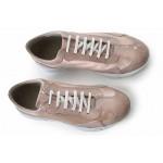 Дамски обувки, спортни, естествена кожа и естествен лак, равни, български / МН Olga розов / MES.BG