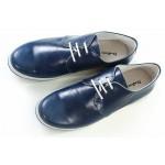 Мъжки обувки, спортни, естествена кожа, български, ежедневни / МН Manolo син / MES.BG
