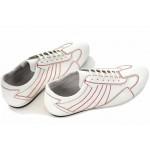 Мъжки обувки, български, естествена кожа, гъвкаво ходило, спортни / МН Dorian бял / MES.BG