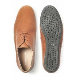 Мъжки обувки, ежедневни, естествена кожа, олекотени / МН Vega кафяв / MES.BG
