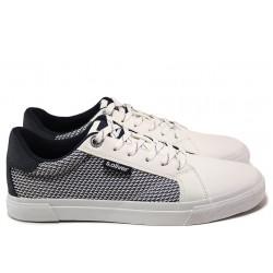 Мъжки спортни обувки S.Oliver 5-13641-24 бял | Мъжки немски обувки | MES.BG