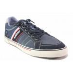Мъжки спортни обувки, летни, гъвкави, ластични връзки / S.Oliver 5-13622-24 син / MES.BG