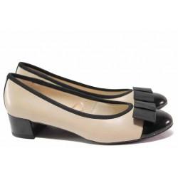 Немски обувки на Caprice, естествена кожа, гъвкаво ходило, ширина G / Caprice 9-22307-24 бежов / MES.BG