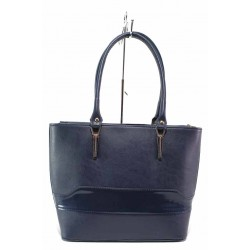 Стилна дамска чанта на доказан български производител / Съни 681-5 син / MES.BG