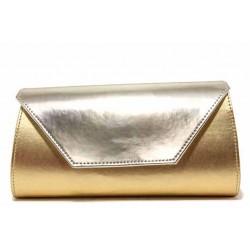Вечерна дамска чанта тип клъч / Съни 842 златен / MES.BG