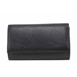 Официална дамска чанта тип портмоне / Съни 941 черен / MES.BG