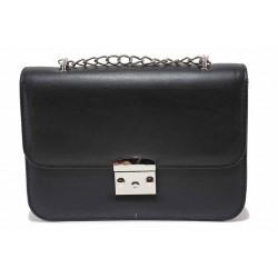 Стилна дамска чанта за през рамо / Съни 719-51 черен / MES.BG