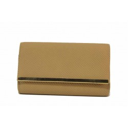 Вечерна дамска чанта тип портмоне / Съни 648 горчица / MES.BG