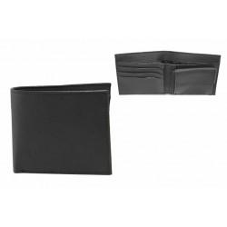 Мъжки портфейл с функционално разпределение / Съни 72-01 черен / MES.BG