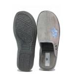 Олекотени дамски чехли, анатомични, гъвкаво ходило / Spesita 20-128 сив / MES.BG