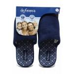 Домашни дамски чехли, олекотени, анатомично ходило / Defonseca ROMA TOP W704 циклама-син / MES.BG