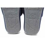 Мъжки домашни чехли, анатомично ходило, гъвкава подметка / Defonseca ROMA TOP M720 т.син / MES.BG