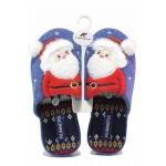 Анатомични дамски домашни чехли Santa Claus / Runners 212-20546 син / MES.BG