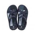 Комфортни мъжки бразилски сандали с велкро лепенка / Bull Rider 11566/24728 син / MES.BG