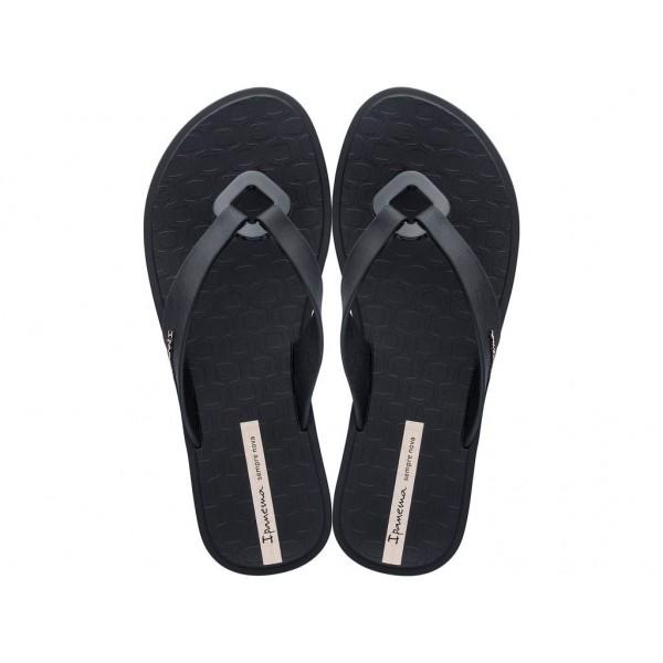 Дамски бразилски чехли с леко, гъвкаво и еластично ходило / Bull Ipanema 26515/20766 черен / MES.BG